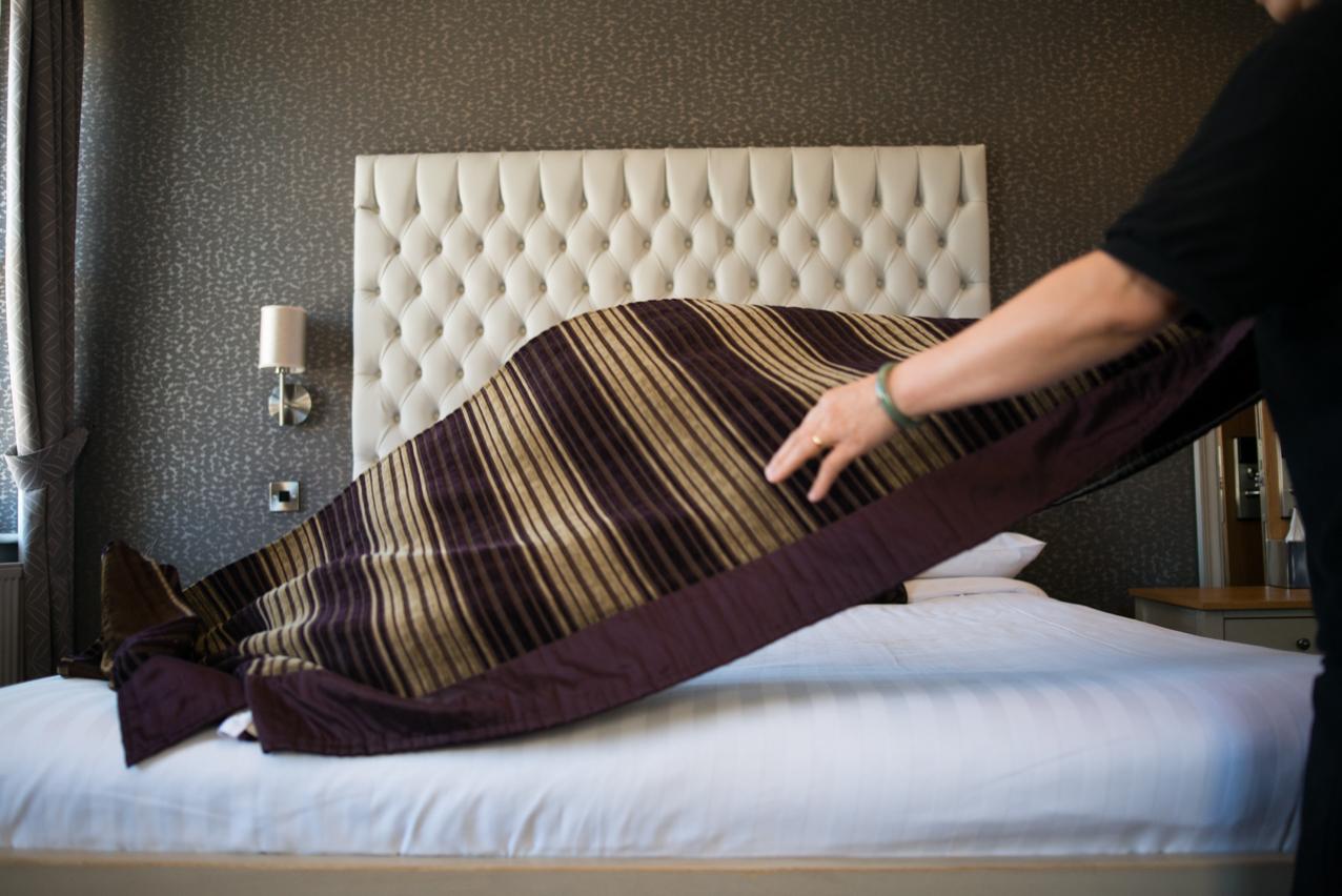 Bed Arrangement | Photography Production